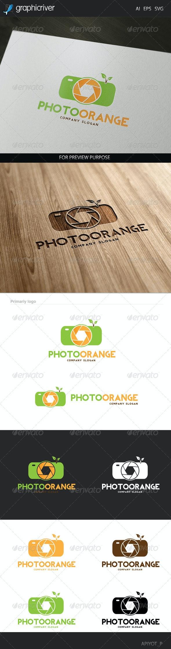 Photo Orange Logo - Abstract Logo Templates