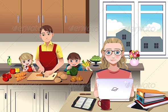 Modern Family at Home - People Characters