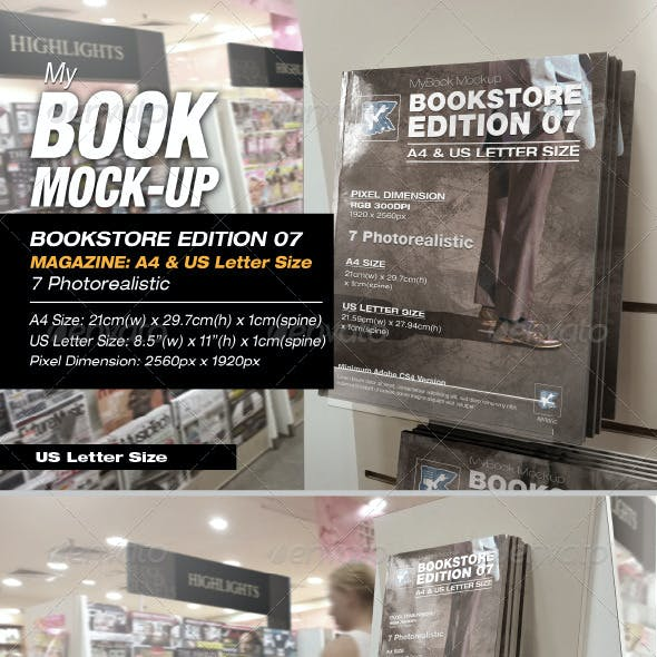 Bookstore Edition 07 Mock-up