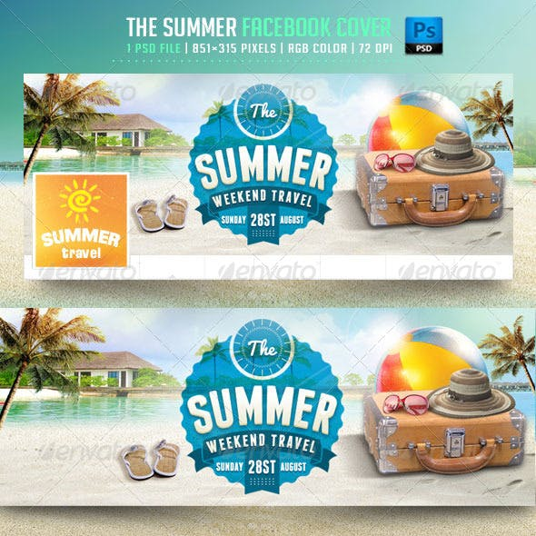 The Summer Facebook Cover