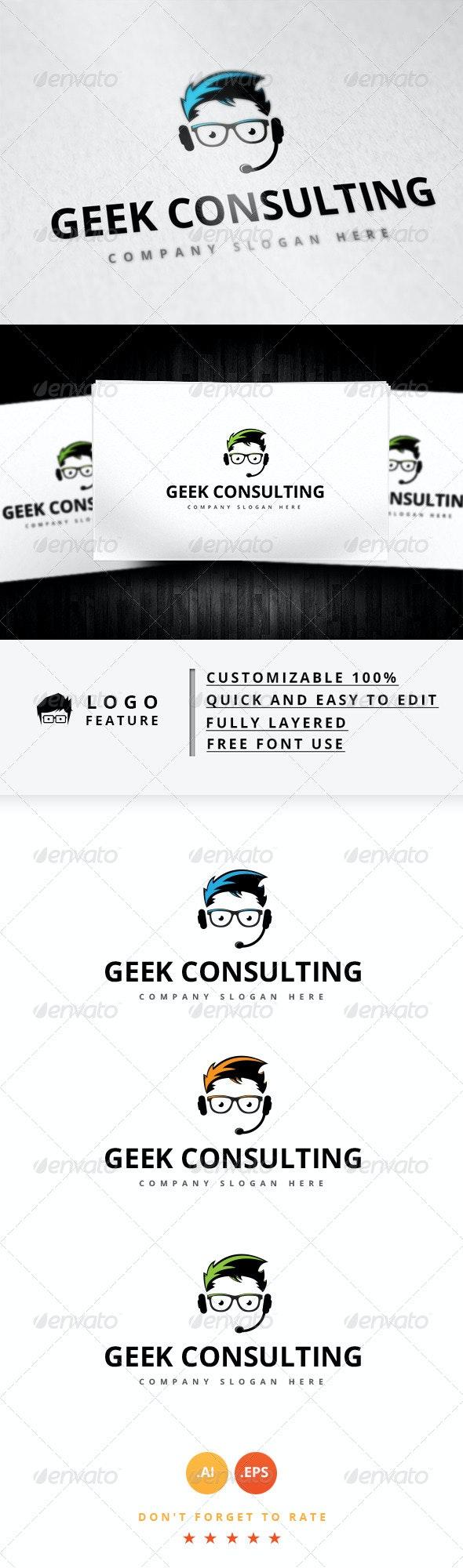 Geek Consulting Logo - Logo Templates