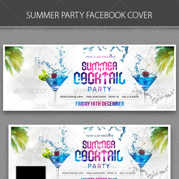 Summer Cocktail Party FB cover