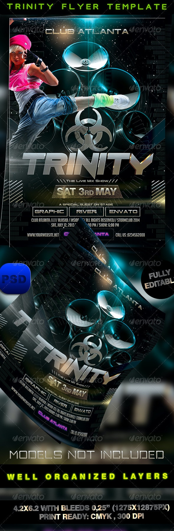 Trinity Flyer Template - Events Flyers