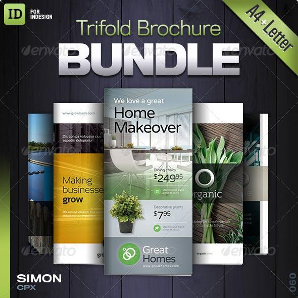 Trifold Brochure Bundle Vol. 4-5-6