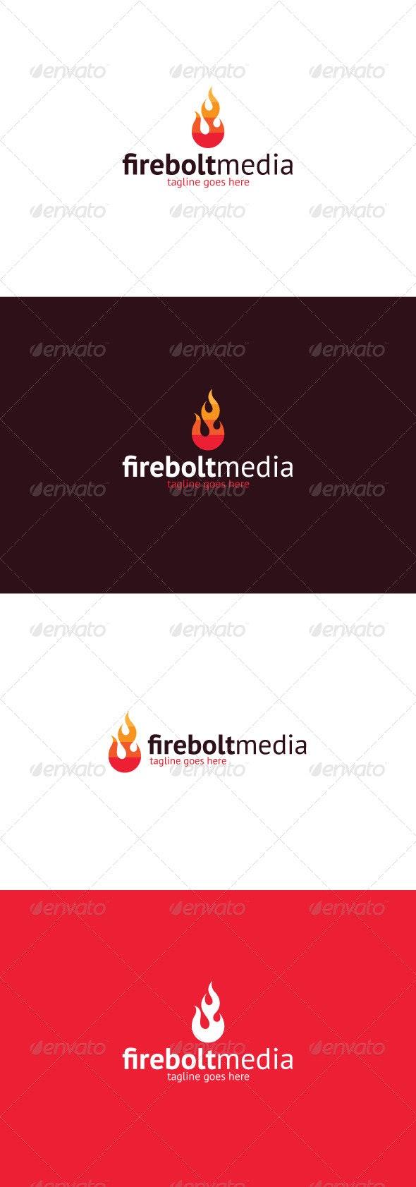 Firebolt Media Logo - Vector Abstract