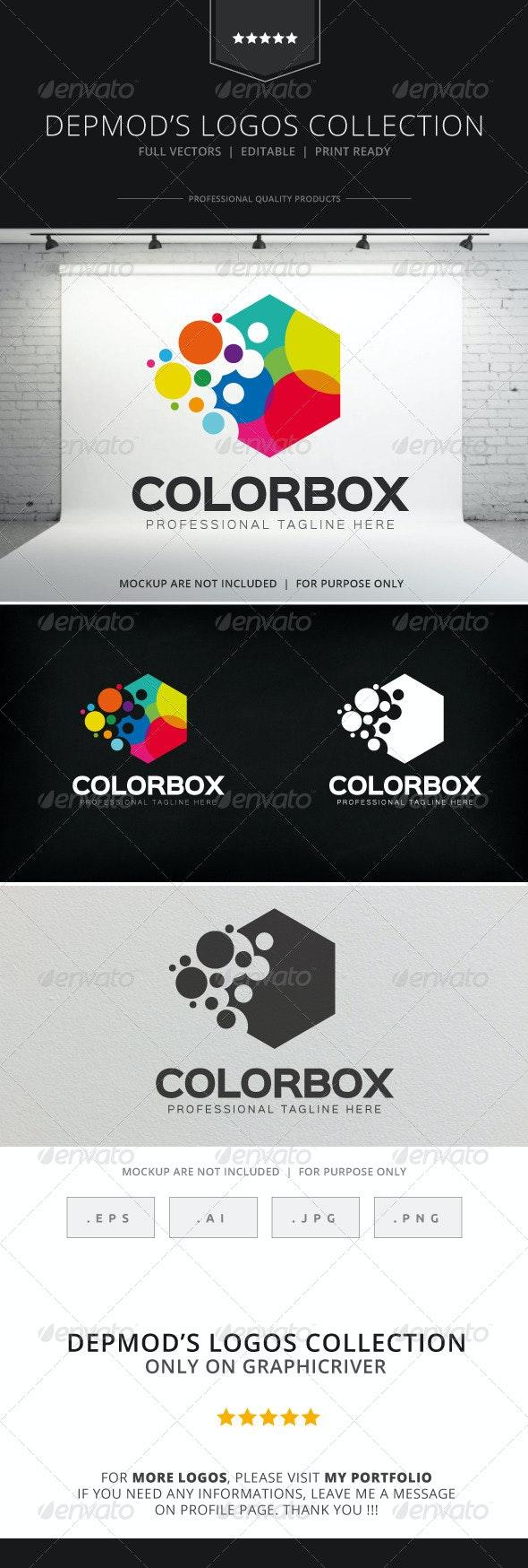 Color Box Logo - Abstract Logo Templates