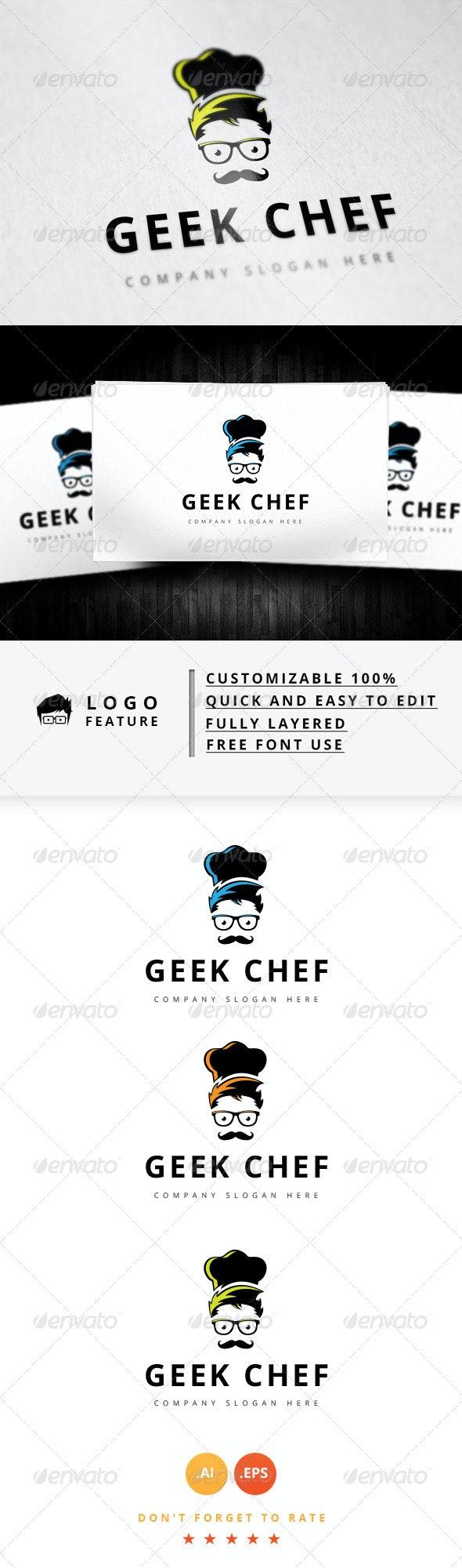 Geek Chef Logo - Logo Templates