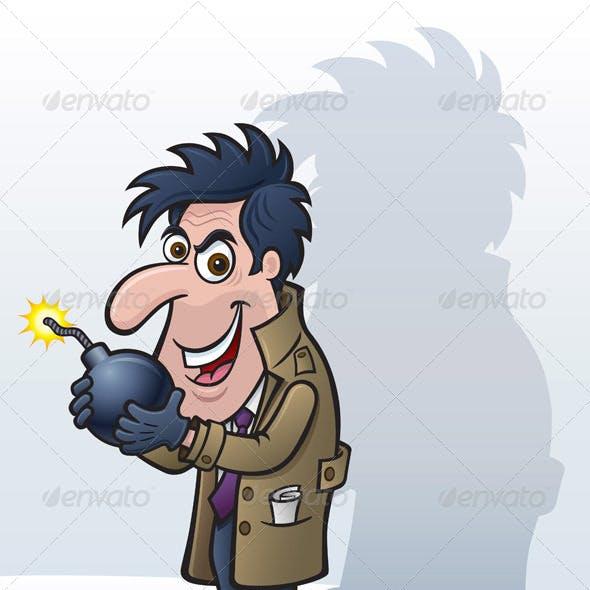 Crazy Spy Bomb Guy