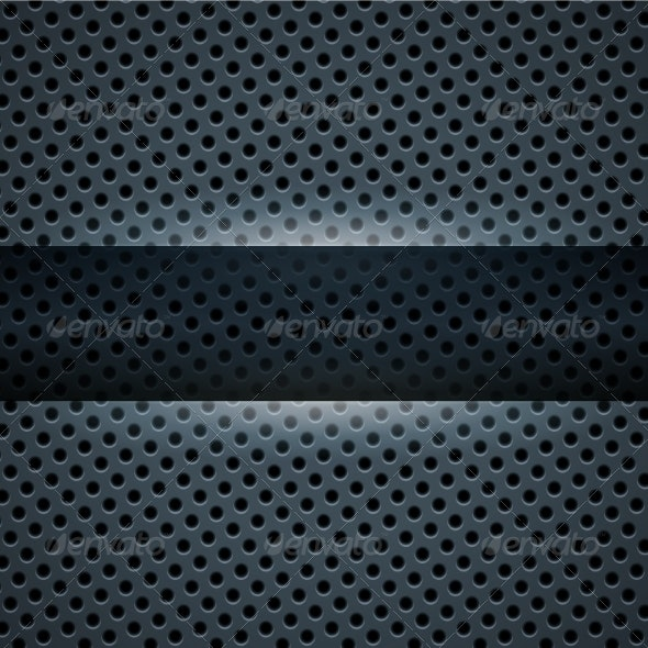 Dark Blue Metal Background - Backgrounds Decorative