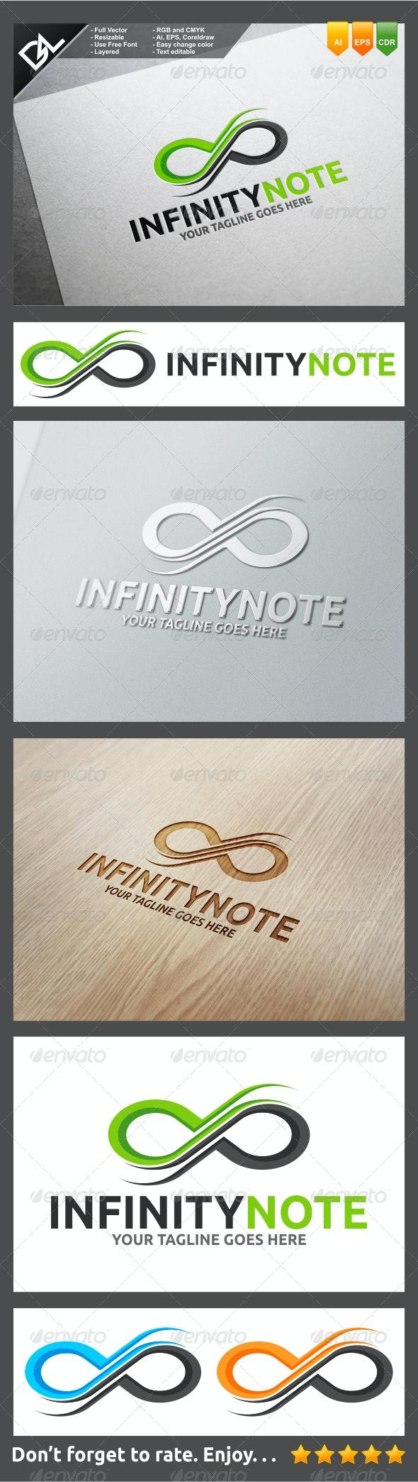 Infinity Note - Symbols Logo Templates