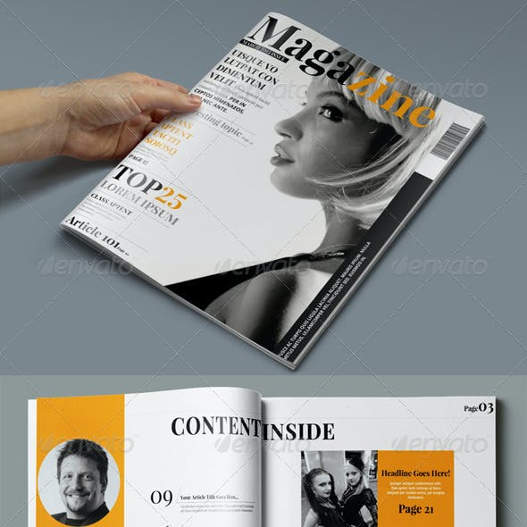 30 Pages Creative Magazine