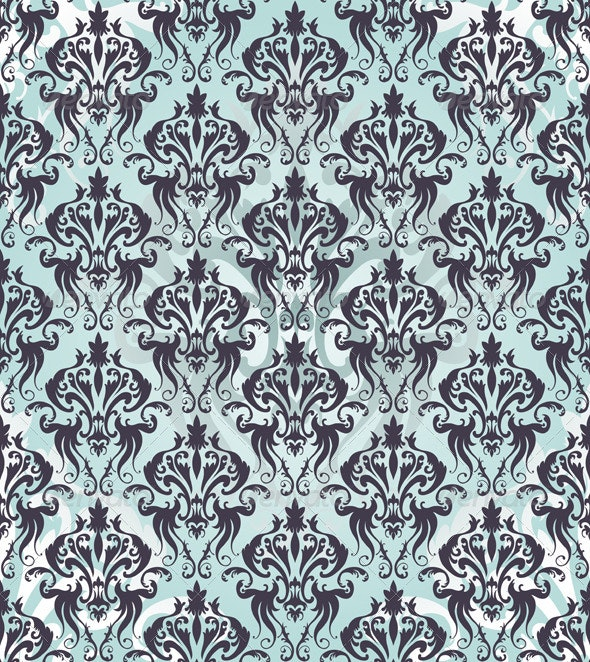 Damask Seamless Pattern - Patterns Decorative