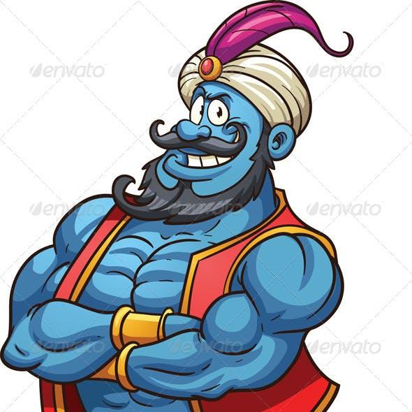 Cartoon Genie