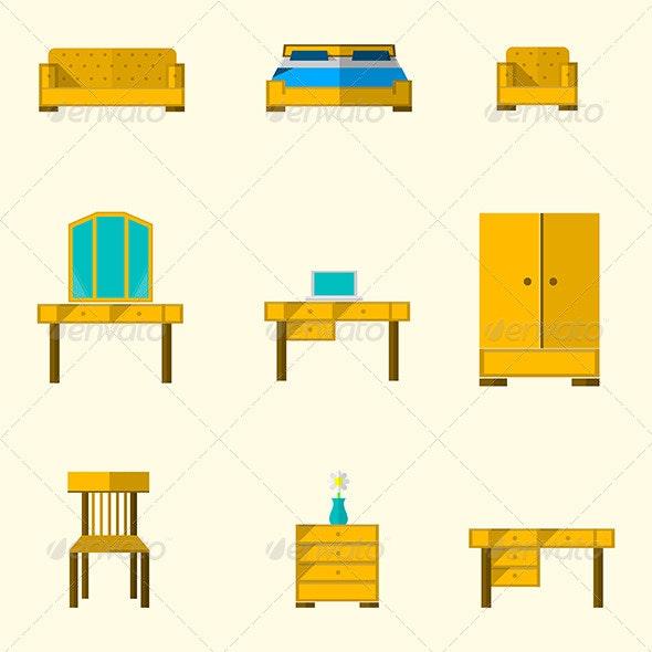 Icon for Furniture - Web Elements Vectors