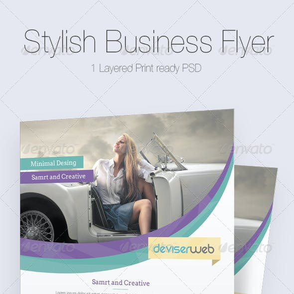 Stylish Business Flyer/Poster Temmplate
