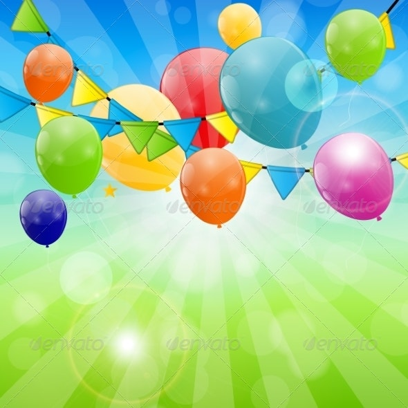 Abstract Holiday Nature Background  - Birthdays Seasons/Holidays