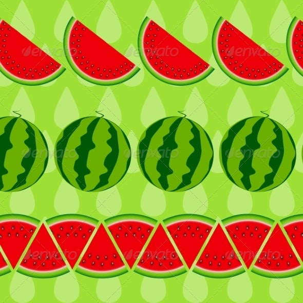 Background From Watermelon - Food Objects
