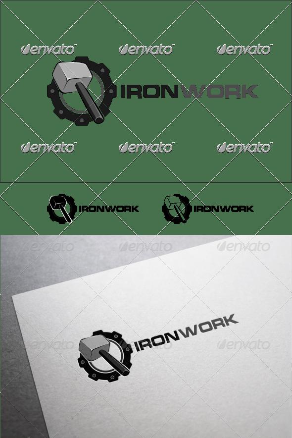 Iron Work - Objects Logo Templates