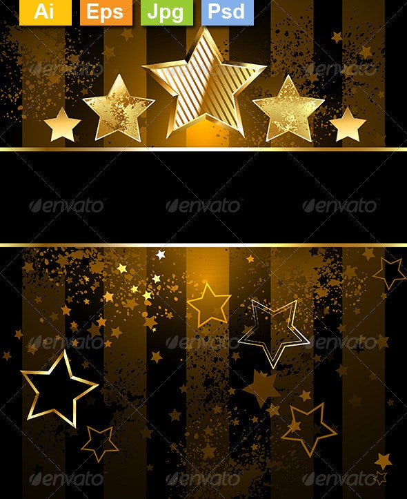 Background with Stars - Backgrounds Decorative