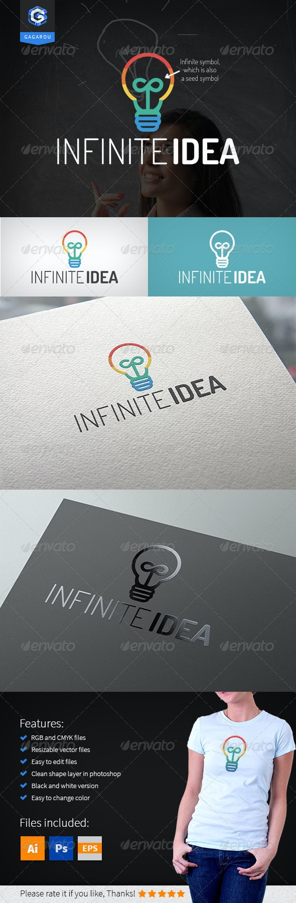Infinite Idea Logo - Objects Logo Templates