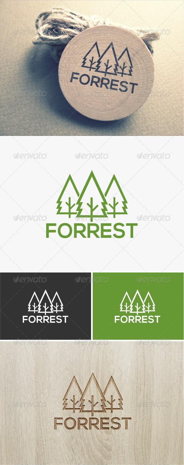 Forest Logo  - Nature Logo Templates