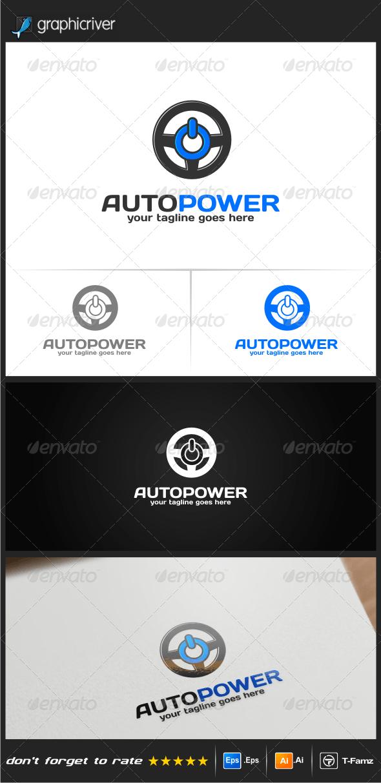 Auto Power Logo Templates - Objects Logo Templates