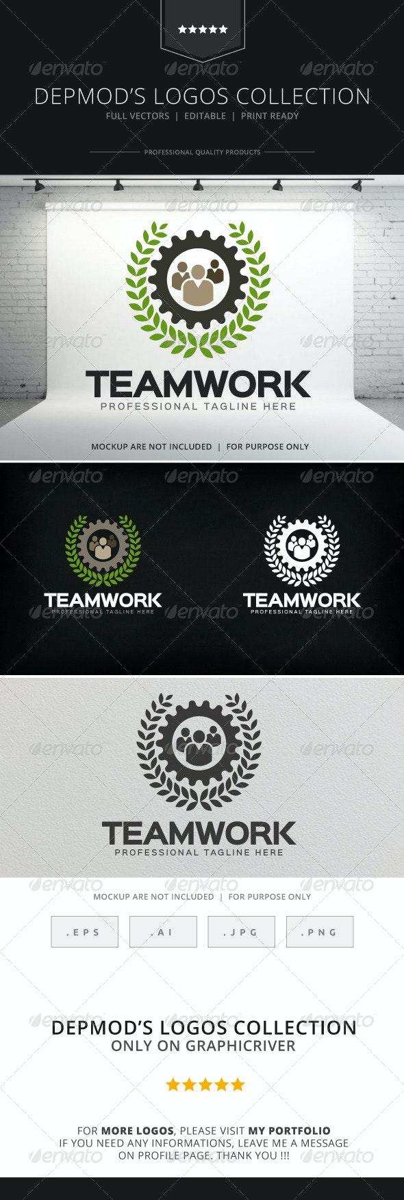 Teamwork Logo - Humans Logo Templates