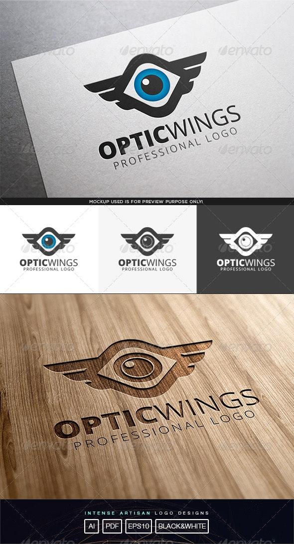 Optic Wings Logo Template - Symbols Logo Templates