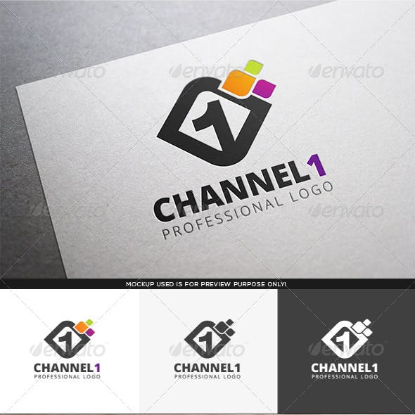 Channel 1 Logo Template