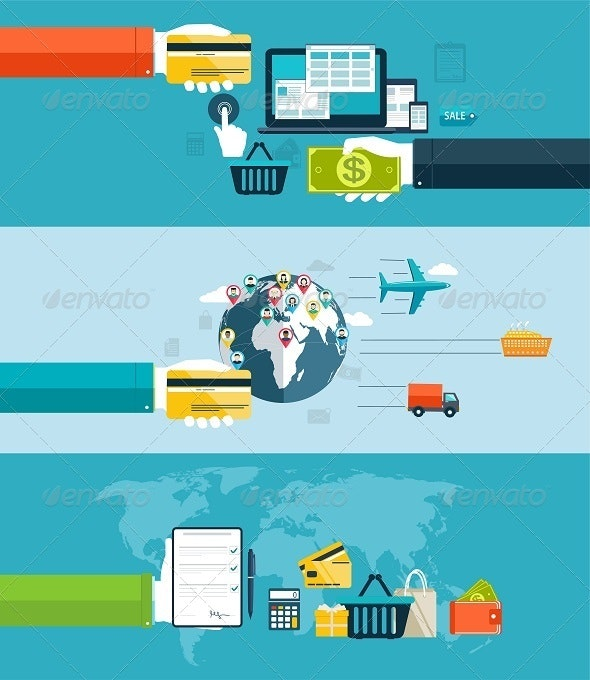 Electronic Payment Methods in Internet and Shopping - Business Conceptual