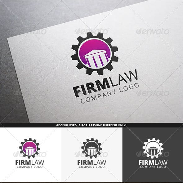 Firm Law Logo Template
