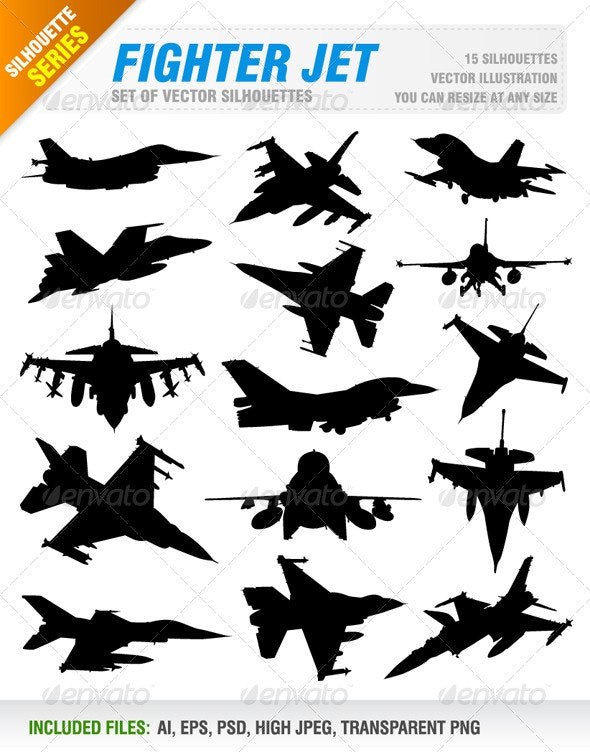 Fighter Jet Set - Technology Conceptual