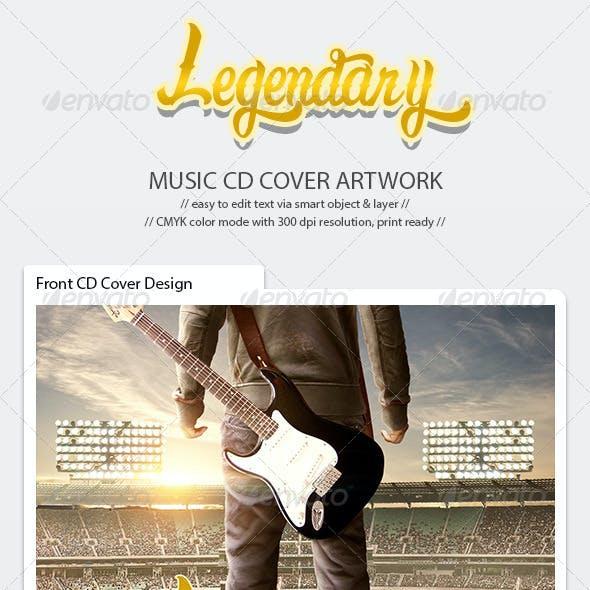 Legendary CD Cover Artwork