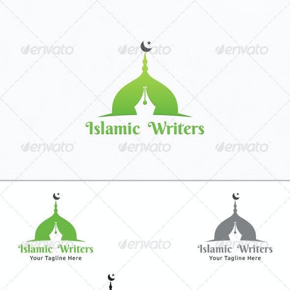 Islamic Writers - Logo Template