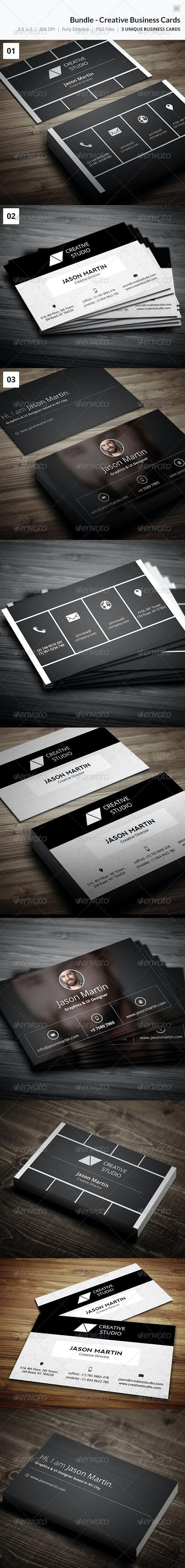 Bundle - Creative Business Cards - 35 - Creative Business Cards