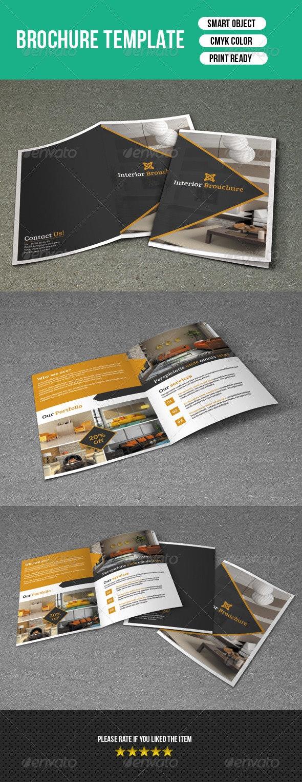 Interior Bifold Template-V96 - Corporate Brochures