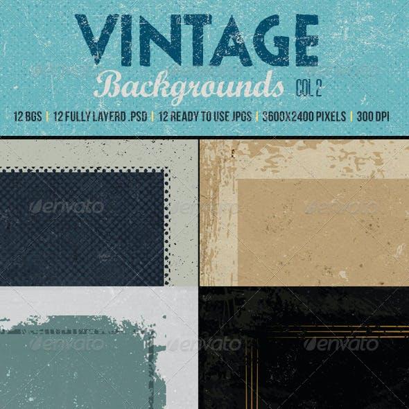 Vintage Backgrounds col2