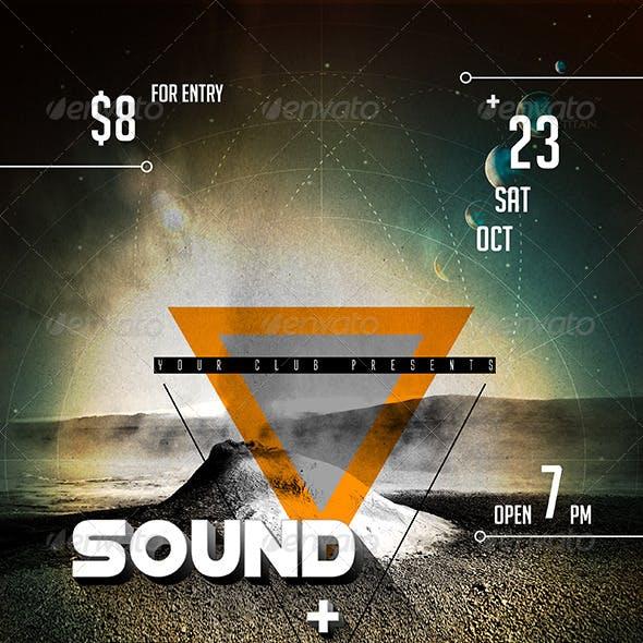 Sound & Vision Flyer