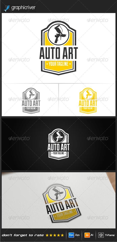 Auto Art Logo Templates - Objects Logo Templates