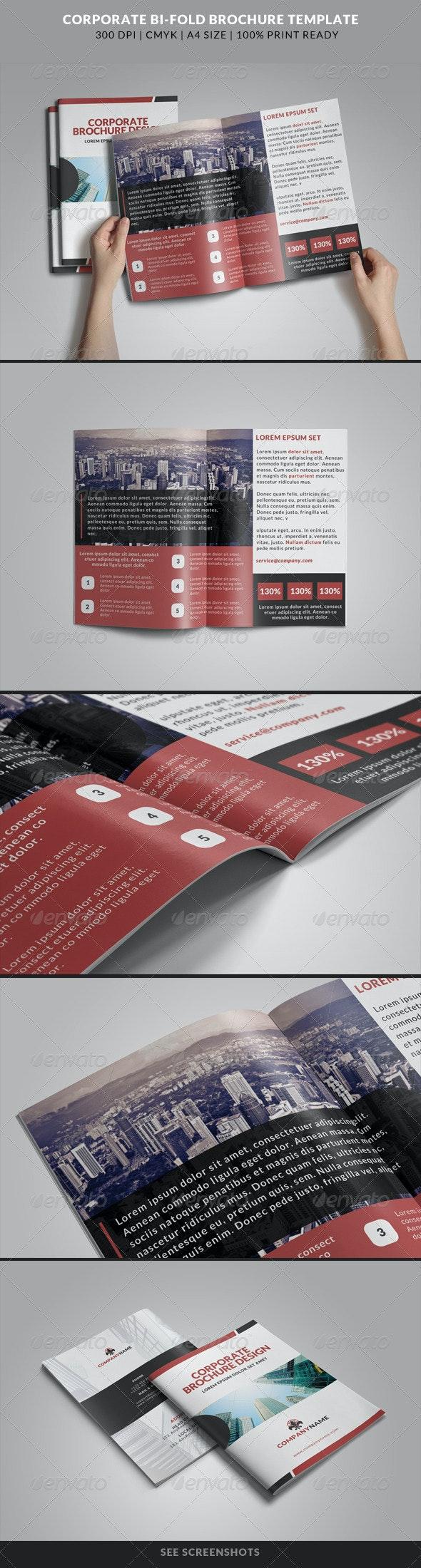 Corporate Bi-Fold Brochures Template 11 - Corporate Brochures