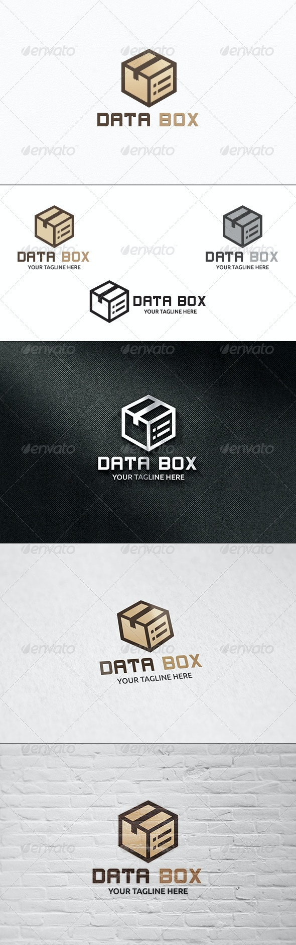 Data Box - Logo Template