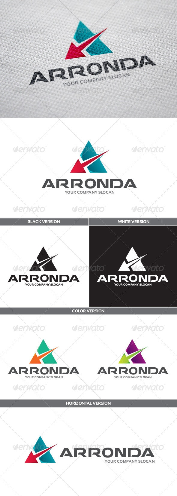 Arronda Logo - Letters Logo Templates