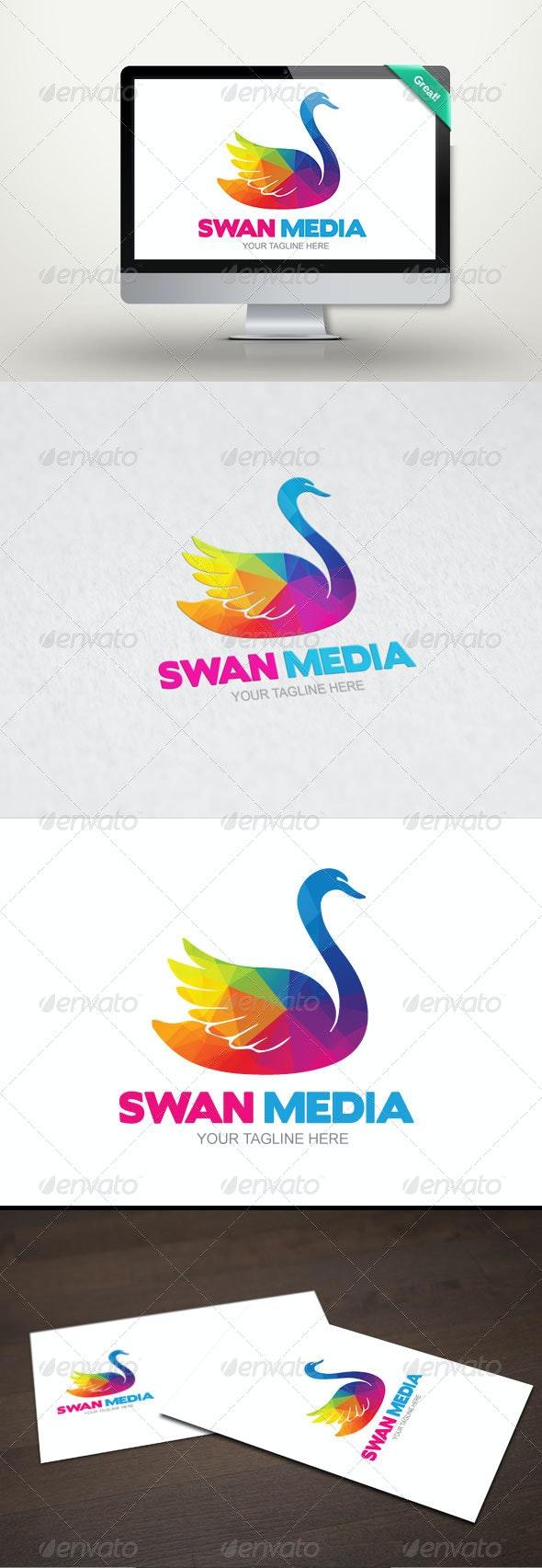 Swan Media - Logo Template - Animals Logo Templates