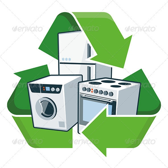 Recycle Large Electronic Appliances - Technology Conceptual