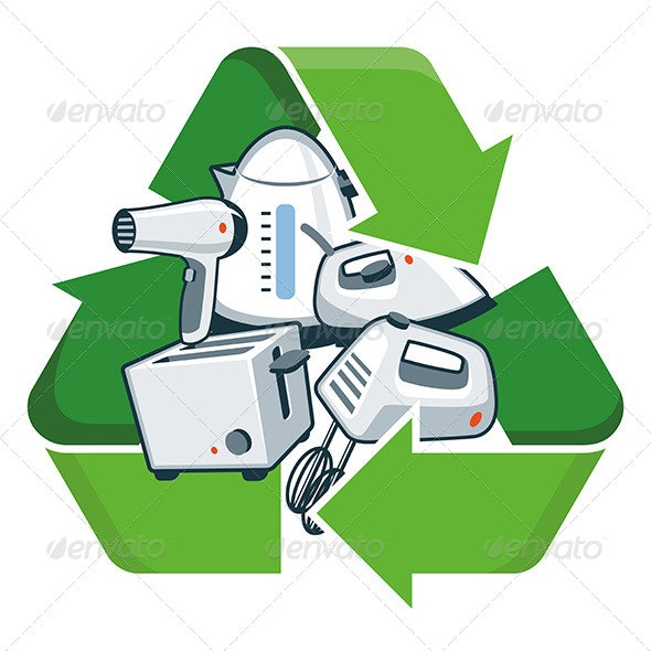 Recycle Small Electronic Appliances - Technology Conceptual