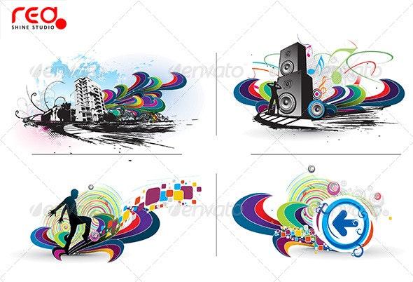 Music Background - Backgrounds Decorative