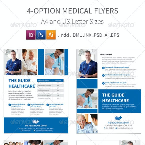 Medical Flyers – 4 Options
