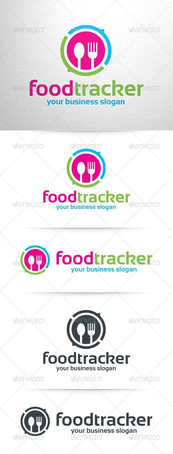Food Tracker Logo Template - Objects Logo Templates