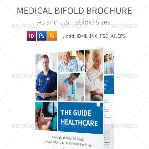 Medical Bifold Halffold Brochure