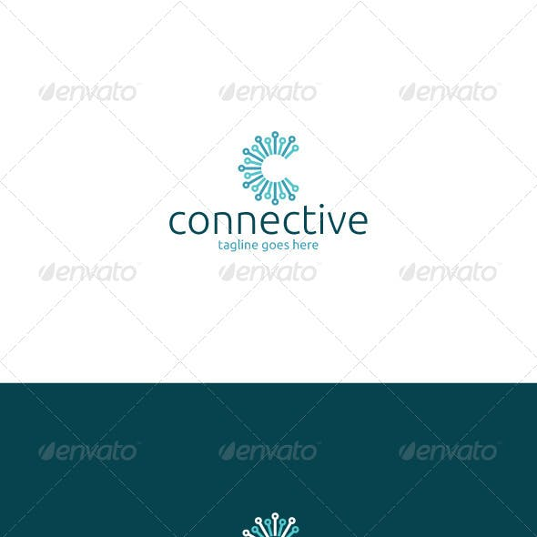 Connective Logo — Letter C